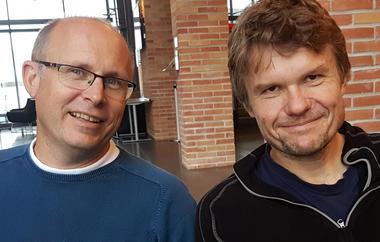 Rne Langøy og Jørgen Lien
