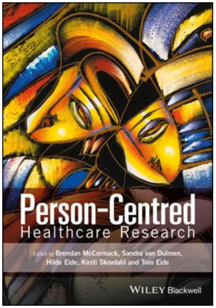 Book Person-centred Healthcare Research .Photo