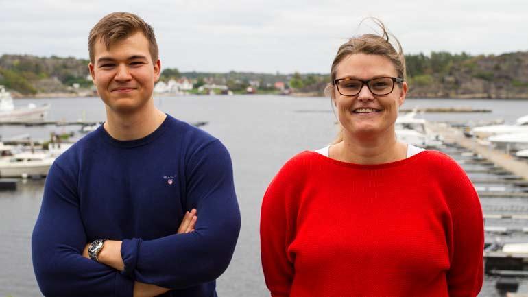 Bjørn Ivar og Camilla. Foto