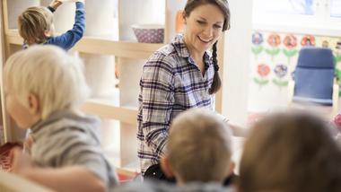 Videreutdanning for barnehage- og skoleansatte. Foto.