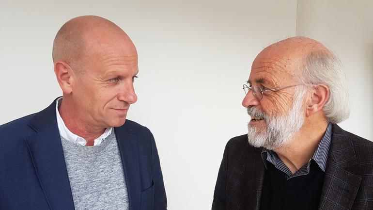 Terje Thomassen og Petter Aasen