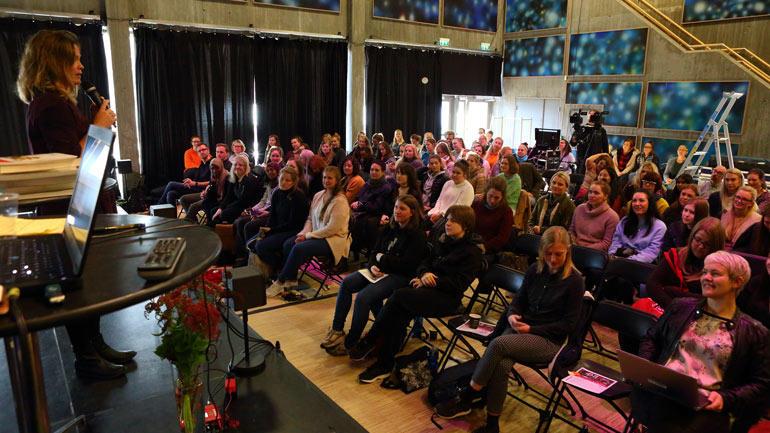 Bildenbokkonferansen på Bok- og blueshuset på Notodden.