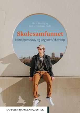 Cover av boka skolesamfunnet.