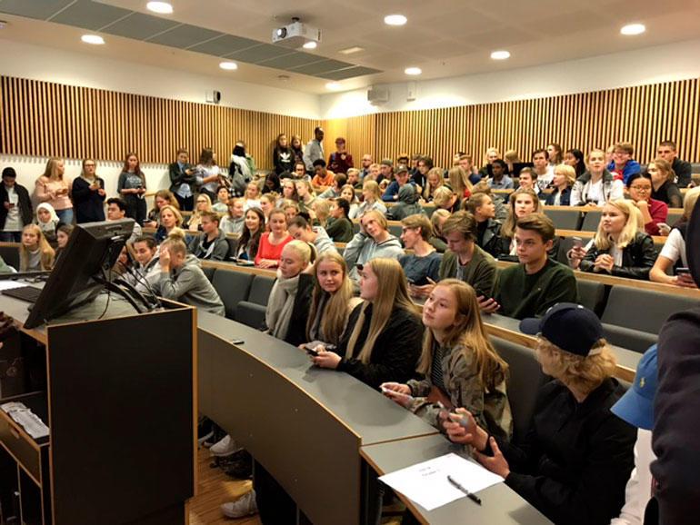 Da ENT3R i Vestfold inviterte inn til oppstart og Kick off