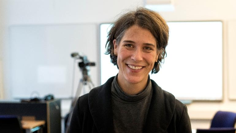 Studentprest Pernille Astrup trer inn i 100 prosent-stilling ved HSN fra nyttår.