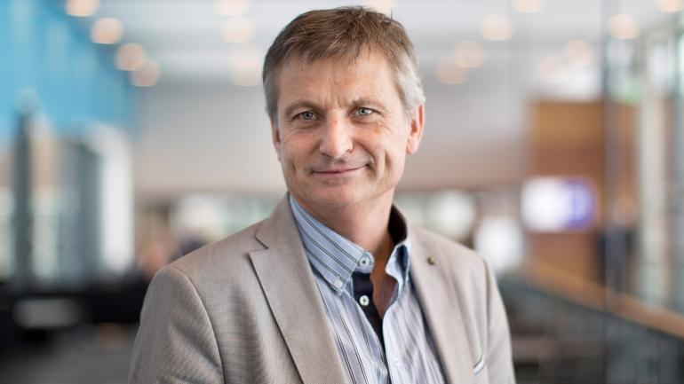 Viserektor for forskning, innovasjon og internasjonalisering ved HSN, Pål Augestad.