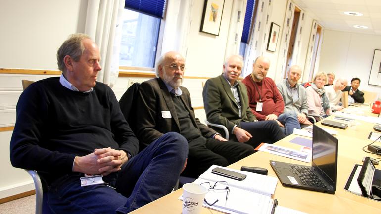 Deltakerne på møtet. Foto: Ragnhild Johansen, Varden