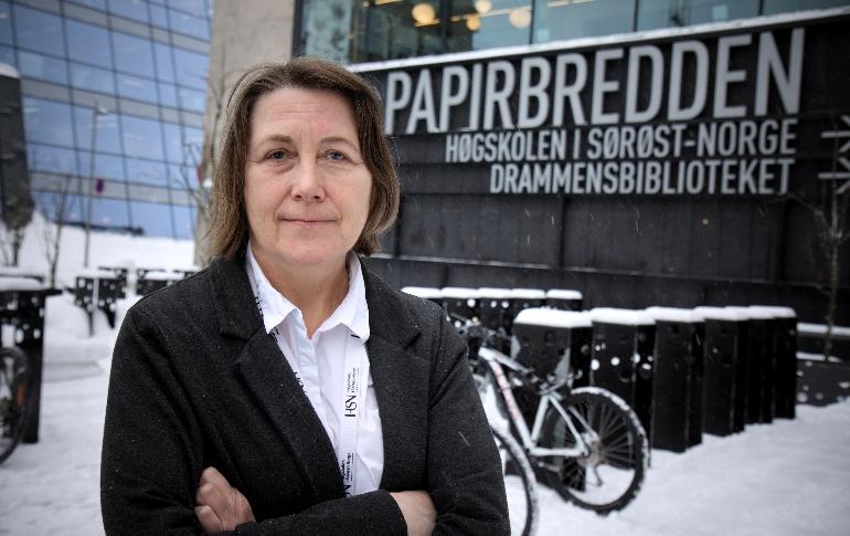 Instituttleder Lise Gladhus. foto.