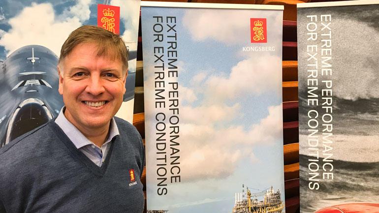 Tom Kjærsgaard, Kongsberg Maritime AS. Foto: Jan-Henrik Kulberg