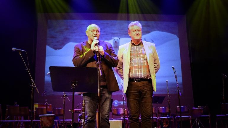 høgskolelektor Olav Bødtker-Næss og førstelektor Pål Runsjø. foto.