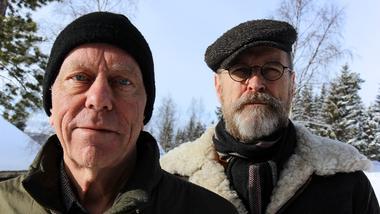 Tellef Kvifte og Ånon Egeland campus Rauland Folkemusikk Spellemannpris. foto.