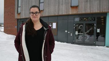 Gjennom nålauget: Det var 15 stykk som søkte på stillinga som festivalkoordinator hos Notodden Blues Festival. Den tidlegare HSN-studenten Mari Beate Sannes (29) fekk den gilde jobben.
