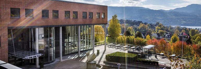 Campus Notodden. Foto.