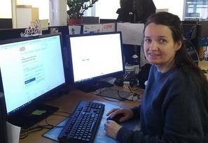 Bilde av nettstudent Anne Cathrine Bjørhall