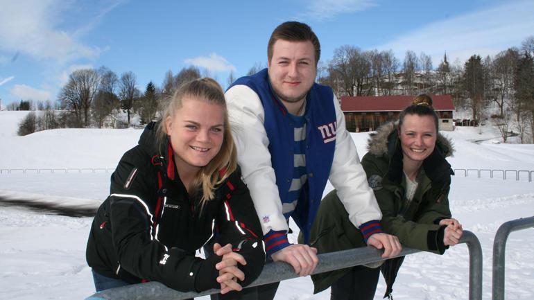Klare: Kjersti Laupet Andersen, Bjørnar Skogvoll og Maria Bø Kaasa opnar 21. mars dørene til Telemarkskonferansen i Bø.