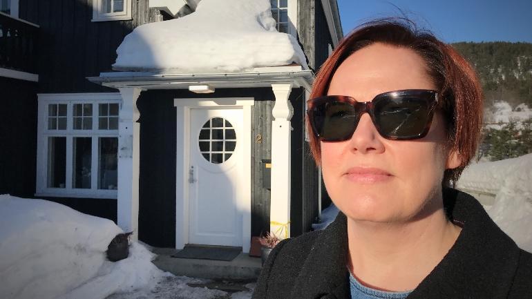 Rigmor Baraas optometri usn snøblindhet. foto.