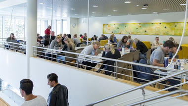 About us. Illustration photo from campus Kongsberg.