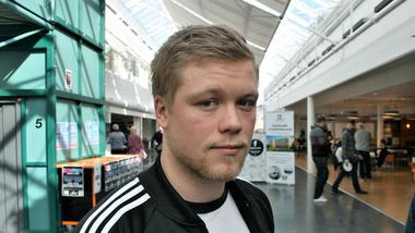 Bilde av student Harald Gjeldstad