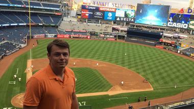 Bilde av Sondre Nilsen På Yankee Stadium
