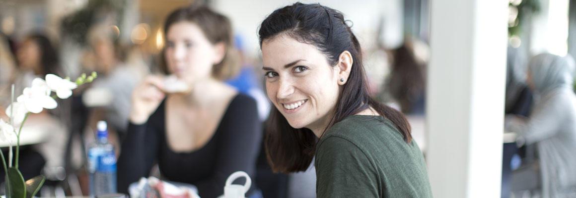 Student Kristine Louise Lein. Foto.