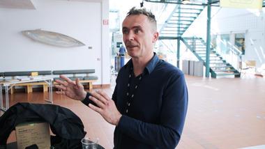 Portrett av prosjektleder Frank Sivertsen i NRK Supernytt