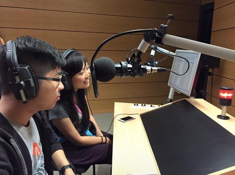 Katrina Yau in studio. Photo