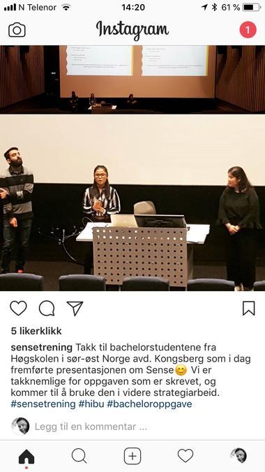 Bilde fra Instagram - foto