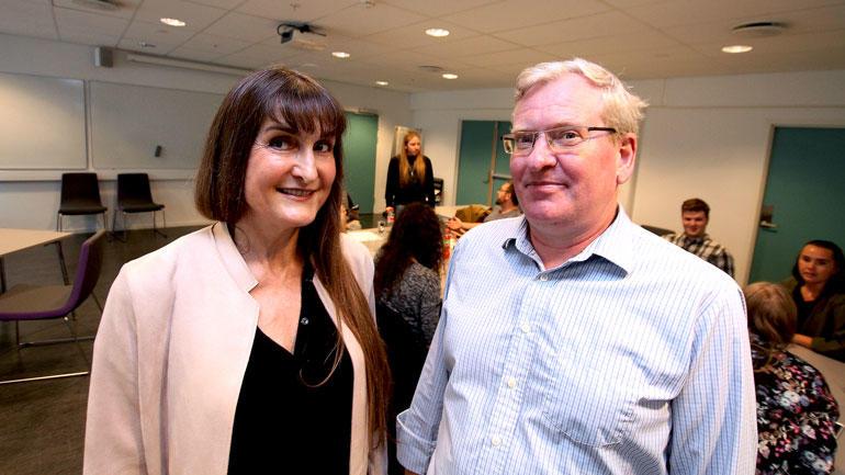Wanda Grimsgaaard og Lasse Sonne