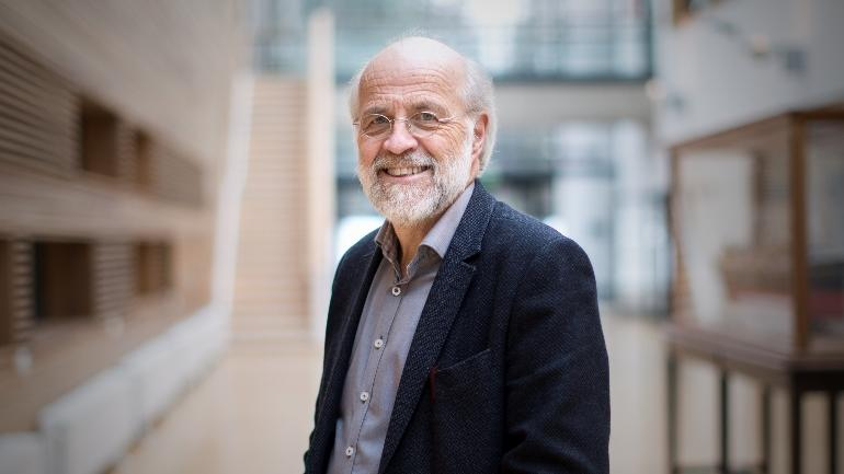 Rektor Petter Aasen ved USN