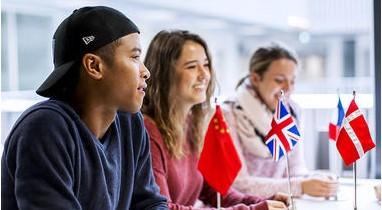 Internasjonale studenter. foto