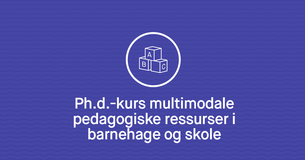 Plakat - kurs i multimodlitet