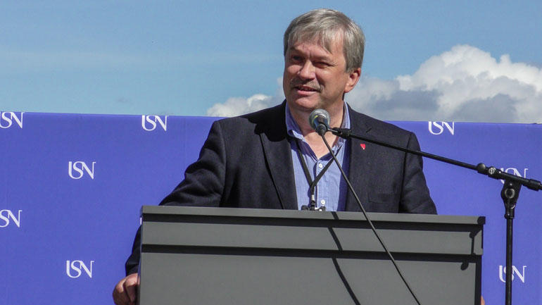 Ordfører Kjell B. Hansen i Ringerike kommune. Foto: Jan-Henrik Kulberg