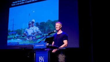 Kjetil Borch med foredrag i Bakkenteigensalen