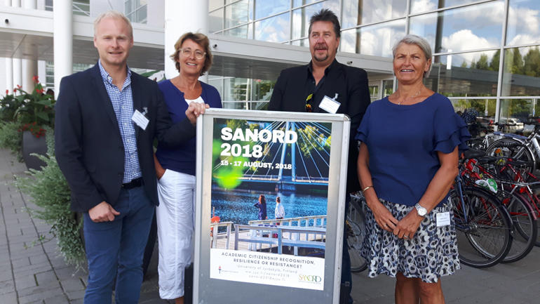 USN var godt representert på SANORD-konferanse i Finland.