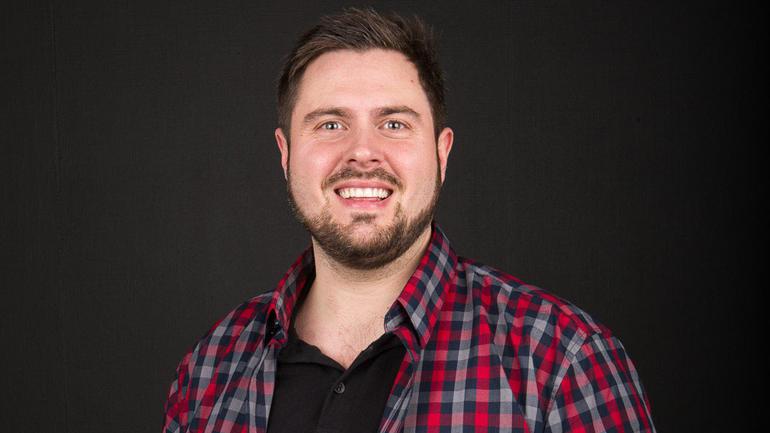 Torstein Gustavsen er USN-student og gründer. Foto: SOLY.no