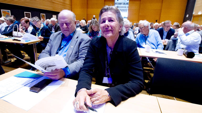 Ellen Schrumpf og Odd Einar Dørum