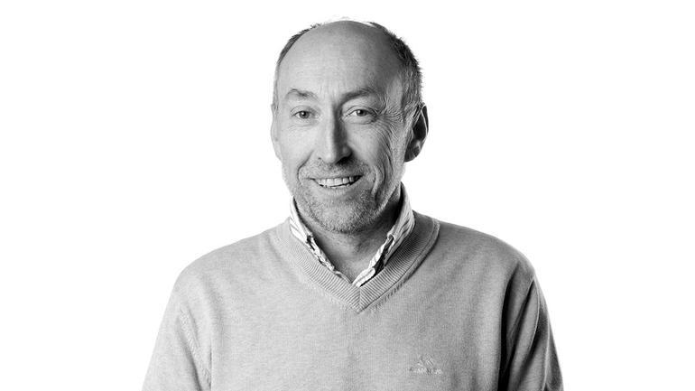 Baard Røsvik er industriekspert på USN og jobber med fremtidens løsninger i Semcon. Foto: Semcon