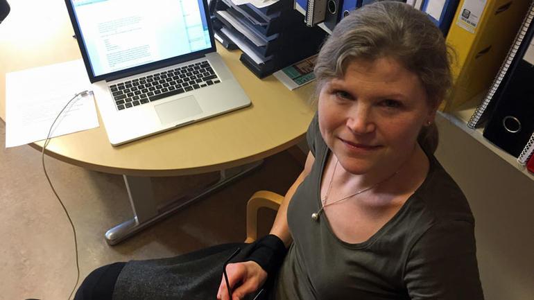 Bilde av foreleser Josefine Lindstrøm