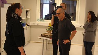 INTERNASJONAL DOKUMENTAR: Kalle Fürst fortel om dokumentaren som produserast.