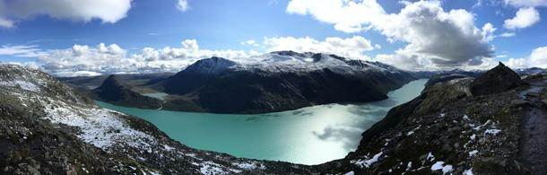 Lea Fiessenger, the view from hiking in Norway
