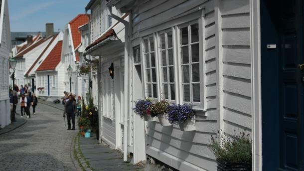 Lea Fiessinger, a view from Hønefoss