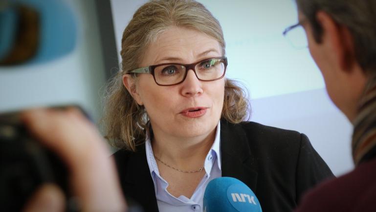 Silja Merete Sverreson fra USN Industriakademi. foto.