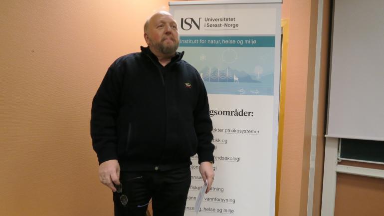 SPENT ORDFØRAR: Borgar Kaasa håpar kunnskaps- og forskingsparken blir ein realitet.