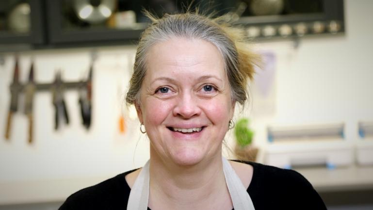 Nina Schwebs ved USN. Søk videreutdanning i mat og helse ved USN. foto.