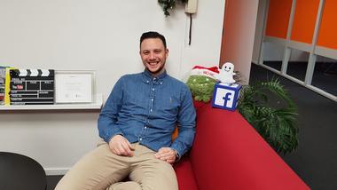 Øystein S. Opperud har studert internasjonal markedsføring og jobber i byrået Synlighet. Foto