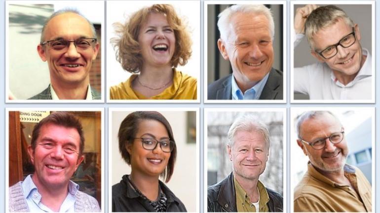 Viser alle 8 medlemmer av SESAMs advisory board