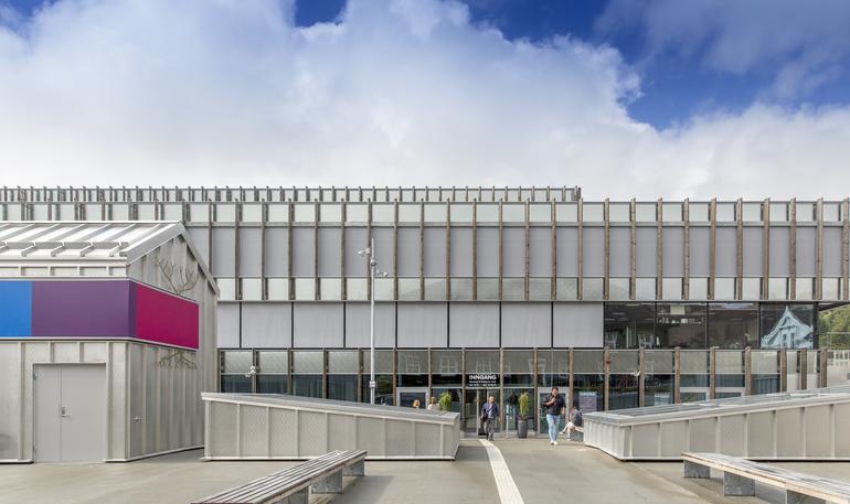 Bilde av campus Kongsberg