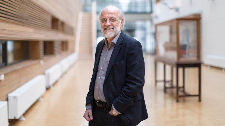 Bilde av rektor ved USN, Petter Aasen.