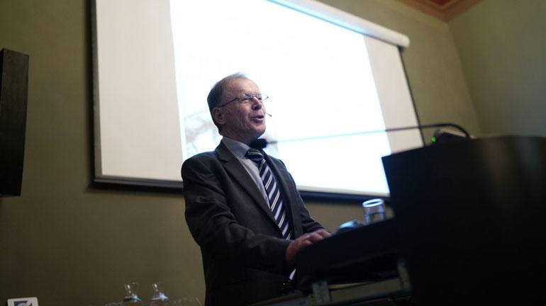 Ole Martin Høystad er professor emeritus ved Universitetet i Sørøst-Norge — Bø. I 2016 ga han ut boka Sjelas betydning. En kulturhistorie. Foto: Khrono/KETIL BLOM HAUGSTULEN