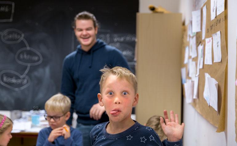 Lærerutdanning, lærer i klasserom